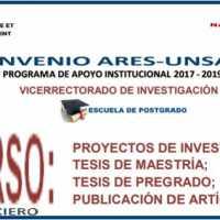 CONVOCATORIA PARA APOYO FINANCIERO DE PROYECTOS DE INVESTIGACIÓN; TESIS DE MAESTRÍA, PREGRADO y PUBLICACIÓN DE ARTÍCULOS CIENTÍFICOS