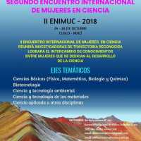 II ENCUENTRO INTERNACIONAL DE MUJERES EN CIENCIAS