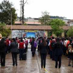 INICIAN AÑO ESCOLAR EN LA INSTITUCIÓN EDUCATIVA FORTUNATO L. HERRERA DE LA UNSAAC